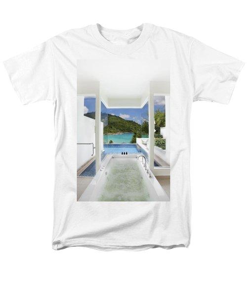 luxury bathroom  T-Shirt by Setsiri Silapasuwanchai