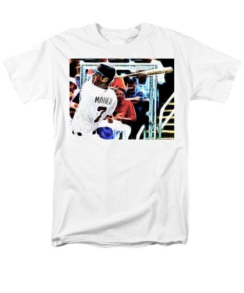 Magical Joe Mauer T-Shirt by Paul Van Scott
