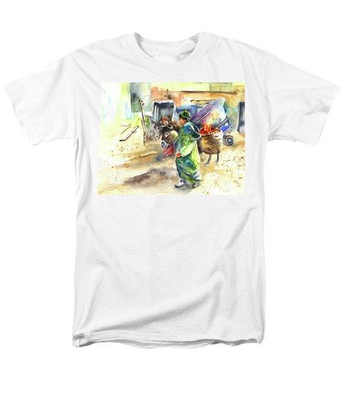 Morrocan Market 04 T-Shirt by Miki De Goodaboom