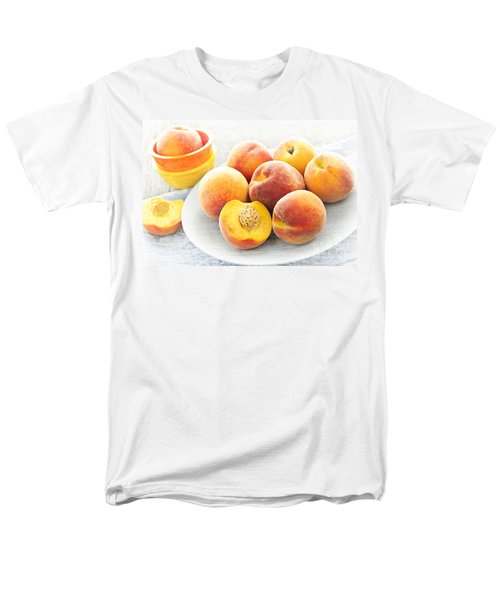 Peaches on plate T-Shirt by Elena Elisseeva