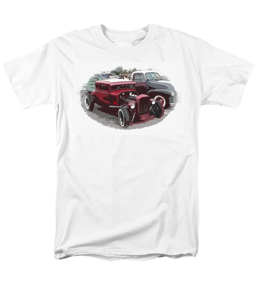 Red Model A Coupe T-Shirt by Steve McKinzie