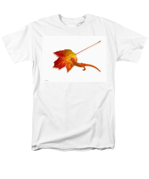 Red Spotted Newt Men's T-Shirt  (Regular Fit) by Ron Jones