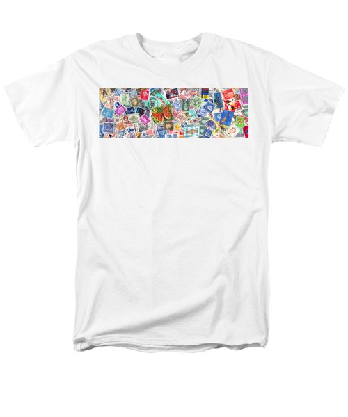 Stamp Collection . 3 to 1 Proportion T-Shirt by Wingsdomain Art and Photography