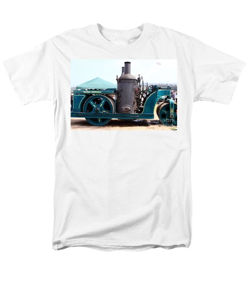 Steam Powered Roller 7d15116 T-Shirt by Wingsdomain Art and Photography