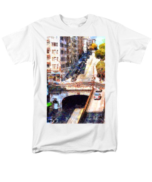 Stockton Street Tunnel San Francisco . 7D7499 T-Shirt by Wingsdomain Art and Photography