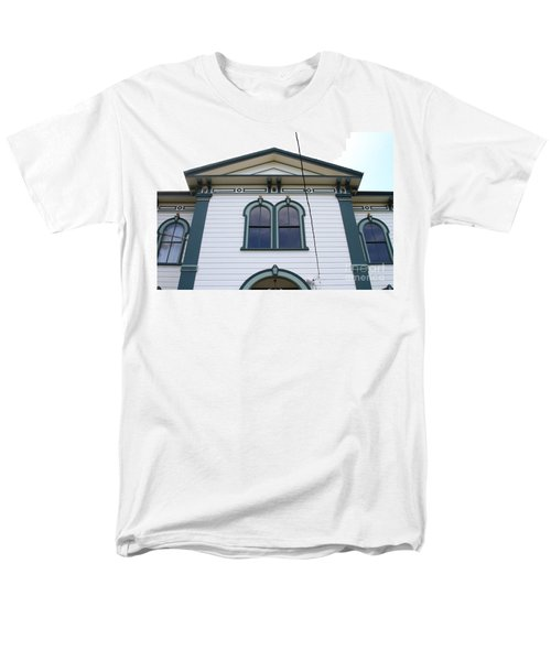 The Potter School House . Bodega Bay . Town of Bodega . California . 7D12482 T-Shirt by Wingsdomain Art and Photography