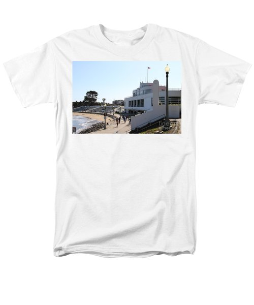 The Sala Burton Building . Maritime Museum . San Francisco California . 7D13993 T-Shirt by Wingsdomain Art and Photography