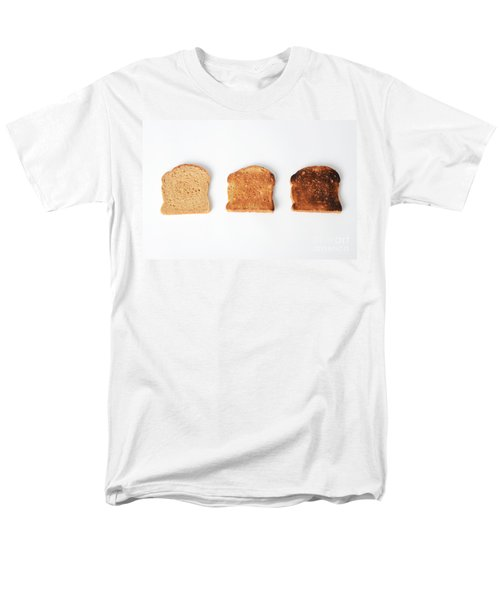 Toasting Bread T-Shirt by Photo Researchers, Inc.