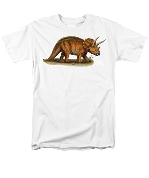 Triceratops T-Shirt by Roger Hall and Photo Researchers