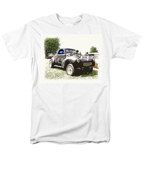Vintage Willys Gasser T-Shirt by Steve McKinzie