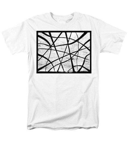 White on Black T-Shirt by Hakon Soreide