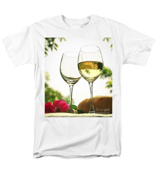 Wine glasses T-Shirt by Elena Elisseeva