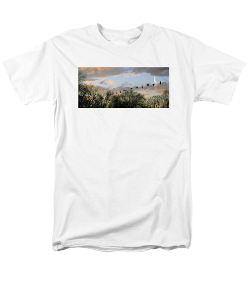 Winter Sunset  Silhouette T-Shirt by Brian Wallace