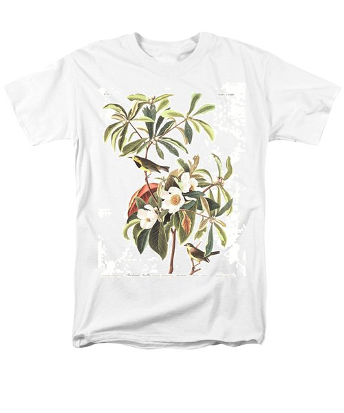 Bachman's Warbler  Men's T-Shirt  (Regular Fit) by John James Audubon