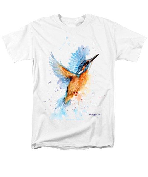 Kingfisher Men's T-Shirt  (Regular Fit) by Sarah Stribbling