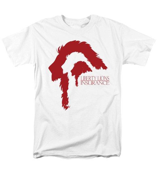 Liberty Lions Logo Men's T-Shirt  (Regular Fit) by Ryan Anderson