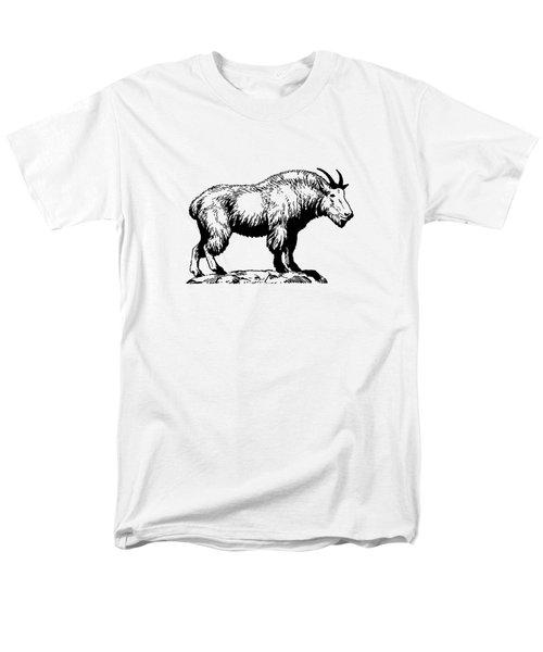Mountain Goat Men's T-Shirt  (Regular Fit) by Mordax Furittus