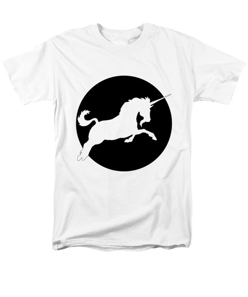 Unicorn Men's T-Shirt  (Regular Fit) by Mordax Furittus