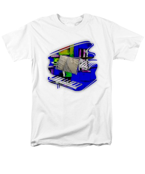 Piano Collection Men's T-Shirt  (Regular Fit) by Marvin Blaine