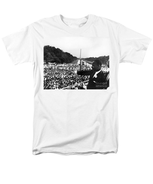 Martin Luther King, Jr Men's T-Shirt  (Regular Fit) by Granger