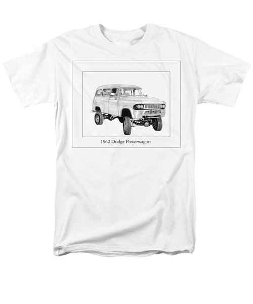 1962 Dodge Powerwagon T-Shirt by Jack Pumphrey