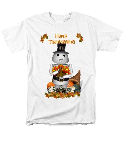 Robo-x9 The Pilgrim Men's T-Shirt  (Regular Fit) by Gravityx9  Designs