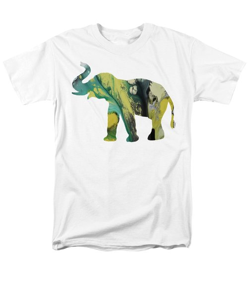 Elephant Men's T-Shirt  (Regular Fit) by Mordax Furittus