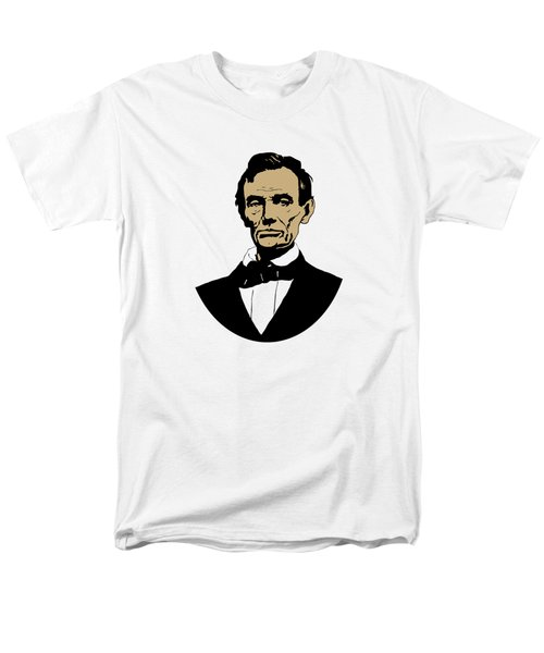 President Lincoln Men's T-Shirt  (Regular Fit) by War Is Hell Store