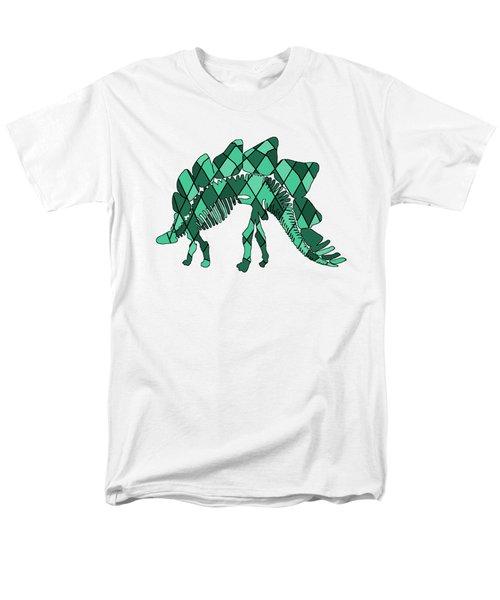 Stegosaurus Skeleton Men's T-Shirt  (Regular Fit) by Mordax Furittus