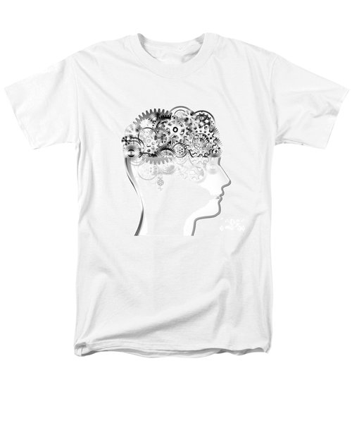 brain design by cogs and gears T-Shirt by Setsiri Silapasuwanchai