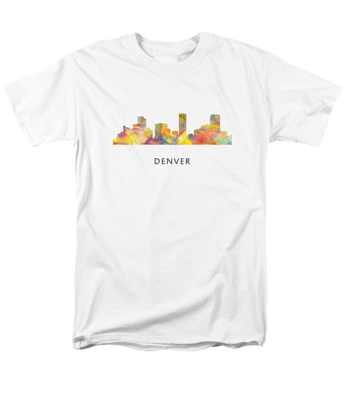 Dallas Texas Skyline Men's T-Shirt  (Regular Fit) by Marlene Watson