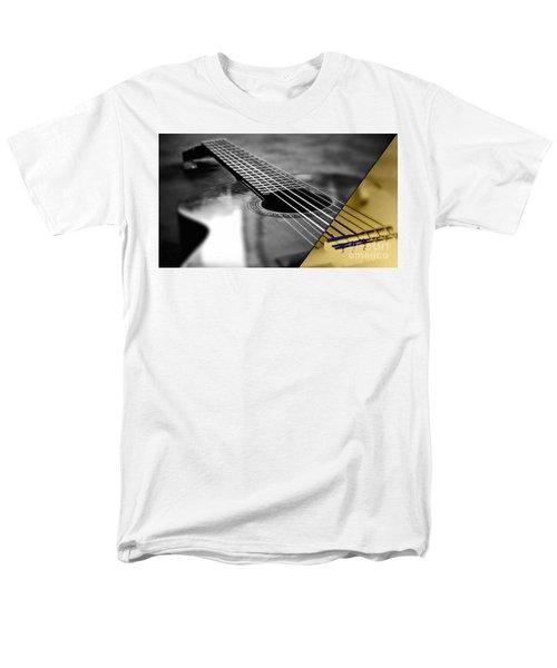 Acoustic Guitar Collection Men's T-Shirt  (Regular Fit) by Marvin Blaine