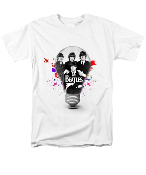 The Beatles Collection Men's T-Shirt  (Regular Fit) by Marvin Blaine