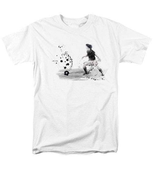 Football Player Men's T-Shirt  (Regular Fit) by Marlene Watson