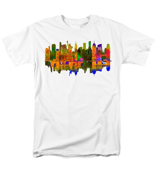 New York Men's T-Shirt  (Regular Fit) by John Groves