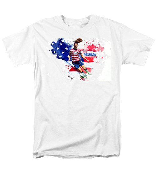 Alex Morgan Men's T-Shirt  (Regular Fit) by Semih Yurdabak