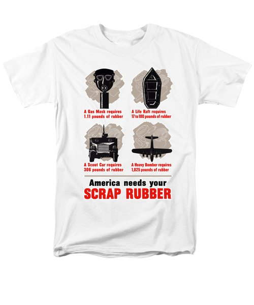 America Needs Your Scrap Rubber T-Shirt by War Is Hell Store