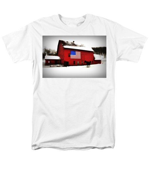 American Barn T-Shirt by Bill Cannon