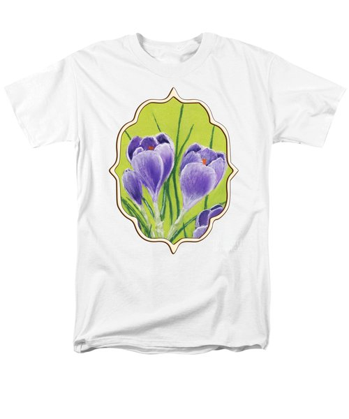 Crocus Men's T-Shirt  (Regular Fit) by Anastasiya Malakhova