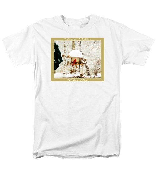 Winter Holiday Men's T-Shirt  (Regular Fit) by Anita Faye
