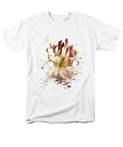 Honeysuckle Reflections Men's T-Shirt  (Regular Fit) by Gill Billington