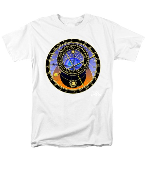 Astronomical Clock T-Shirt by Michal Boubin