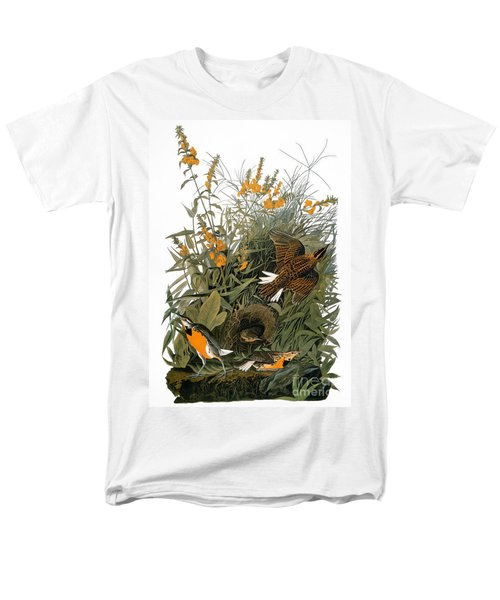 Audubon: Meadowlark Men's T-Shirt  (Regular Fit) by Granger