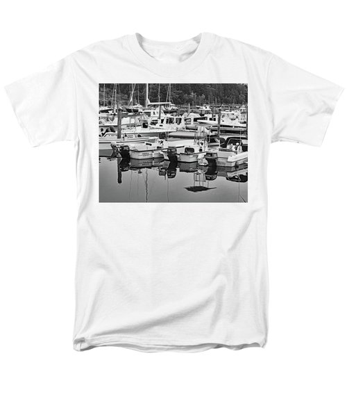 Bar Harbor, Maine No. 3-1 Men's T-Shirt  (Regular Fit) by Sandy Taylor