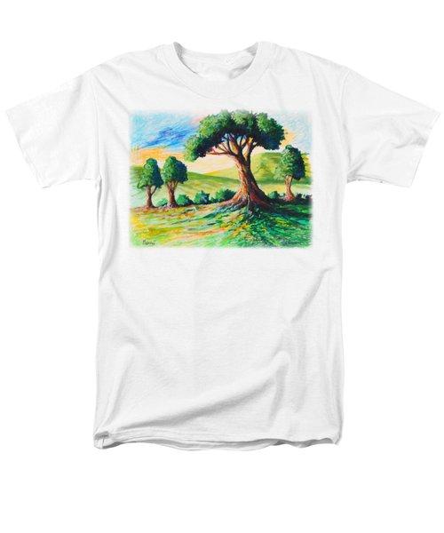 Basking In The Sun Men's T-Shirt  (Regular Fit) by Anthony Mwangi