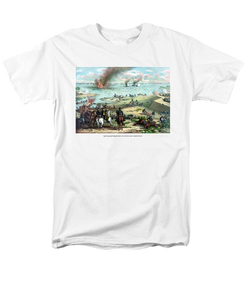 Battle Between The Monitor And Merrimac T-Shirt by War Is Hell Store