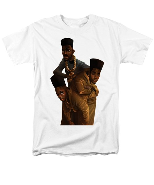Bdk White Bg Men's T-Shirt  (Regular Fit) by Nelson Dedos Garcia