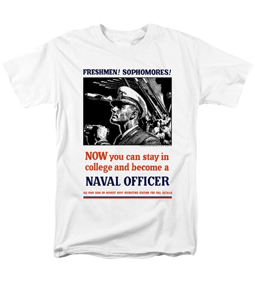 Become A Naval Officer T-Shirt by War Is Hell Store
