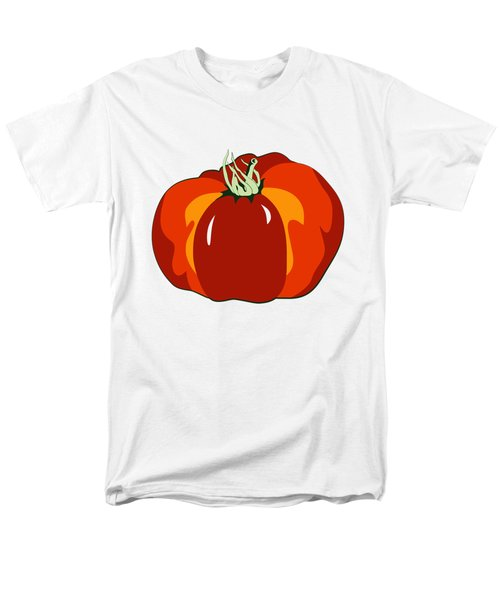 Beefsteak Tomato Men's T-Shirt  (Regular Fit) by MM Anderson