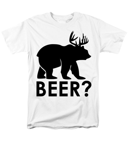 Beer? Men's T-Shirt  (Regular Fit) by Frederick Holiday